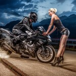 Fotoshooting: sexy girls and bikes