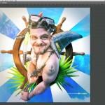 Photoshop short tip Nr.1 blauer Kontrast