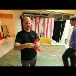 "Schwaighofer-ART: making of ""the flying gunman"" fotoshooting"