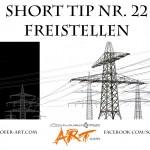 Short tip Nr. 22 Freistellen mit Kanälen